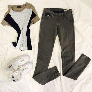 G-Star Denim - 🖤💚 G-Star Raw Gray Skinny Jeans W 26 L 34