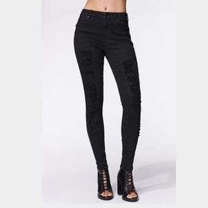 Kendall & Kylie Denim - Kendall & Kylie High Waisted Skinny Jeans
