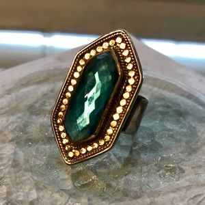 anna beck Jewelry - Anna beck blue hexagon ring. New from Nordstrom
