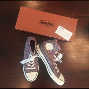 Converse Shoes - MISSONI x CONVERSE high tops