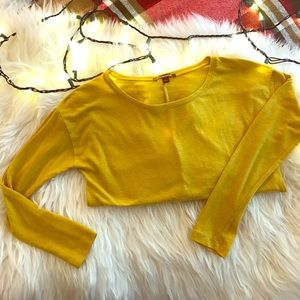 Hive & Honey Tops - Hive & Honey Mustard Yellow 3/4 Sleeve Tee