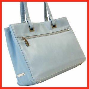 Perlina Handbags - Baby Blue purse