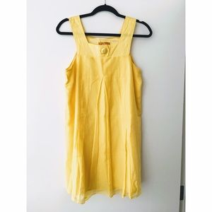 Alice + Olivia Dresses & Skirts - Alice + Olivia beautiful silk yellow dress Worn 1x