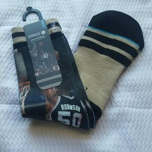 Stance Other - Stance David Robinson Socks - L