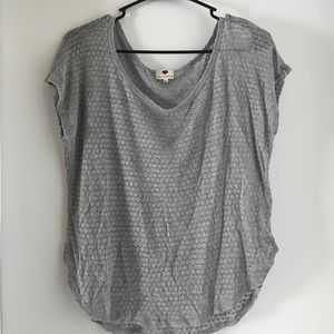 one clothing Tops - Sweet Silver One Clothing Shirt