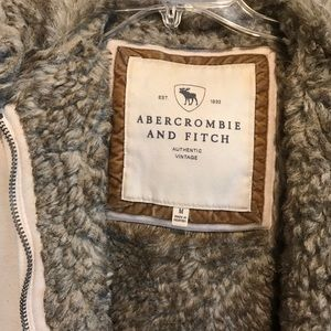 Abercrombie & Fitch Sweaters - Abercrombie and Fitch Fur Hoodie Medium