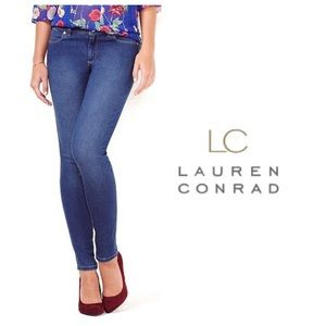 LC Lauren Conrad Denim - LC Lauren Conrad Medium Wash Jeggings