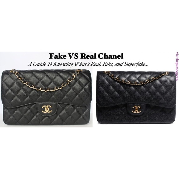 chanel Bags   Fake Vs Real Beware   Poshmark c8ddb513f8
