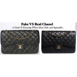 how to tell if a vintage chanel bag is real