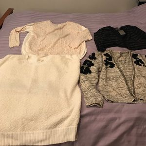 Anthropologie sweaters