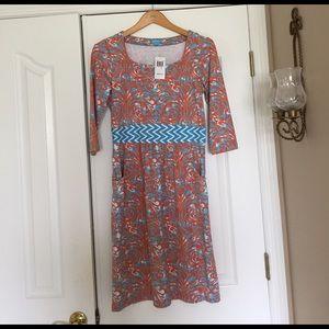 J. McLaughlin Dresses & Skirts - J. McLaughlin for Dillard's orange and blue dress.