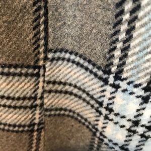 Wet Seal Jackets & Coats - Beautiful warm grey/ black and light blue peacoat