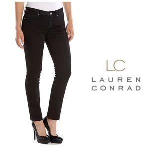 LC Lauren Conrad Denim - LC Lauren Conrad Skinny Ankle Black Jeans 6, 10