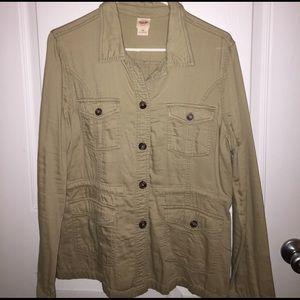 Mossimo Supply Co. Jackets & Blazers - Mossimo Tan Jacket