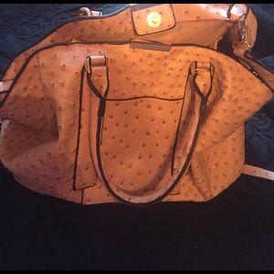 Handbags - Ostrich Boutique Bag (pink)