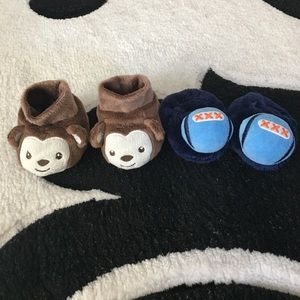 Other - Set of two 3-6 months baby slippers