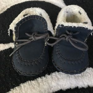 Other - 0-3 months navy baby moccasins
