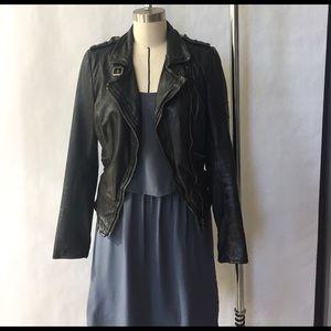 Muubaa Jackets & Blazers - Muuba Black leather Moto jacket