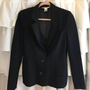 DVF black blazer