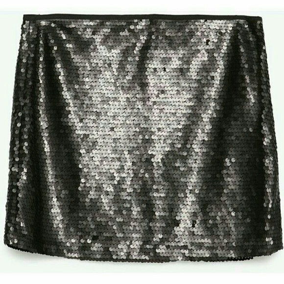 eecf5af9a9c5 Zara Skirts | Nwt Basic Black Sequin Mini Skirt | Poshmark
