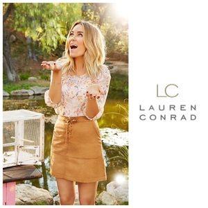 LC Lauren Conrad Dresses & Skirts - SALE LC Lauren Conrad Faux Suede Skirt