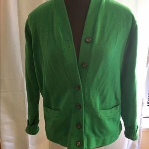 Albion Sweaters - Vintage Kelly Green Sweater