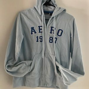 Aeronautica Militare Jackets & Blazers - Fleece-alicious Aeropostale Hooded zip-up