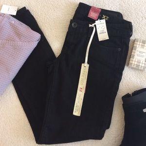 Express Denim - Express Black w01 Skinny Jeans