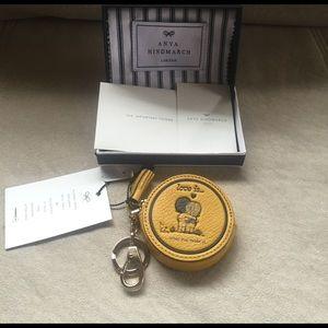 Anya Hindmarch Handbags - Anya Hindmarch Yellow Coin Purse
