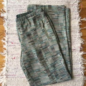 NIC + ZOE Pants - Nic & Zoe light green palazzo style pants M