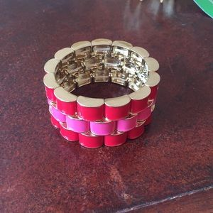 Beautiful red/pink bracelet
