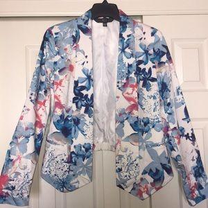 Mossimo Supply Co. Jackets & Blazers - EUC Floral Open Blazer