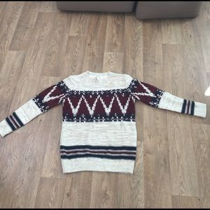 Forever 21 Chunky Knit Sweater Sz sm
