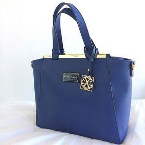 Christian Lacroix Handbags - NWOT Large Blue Christian Lacroix Purse