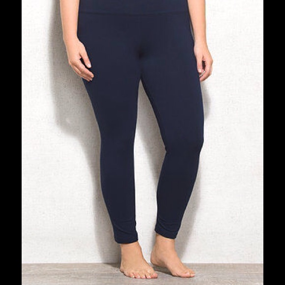 a8186816e6dfa1 Dress Barn Pants - DRESS BARN PETITE LEGGINGS PLUS SIZE 3X NAVY & BLK