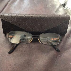 Gucci Havana brown frames
