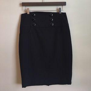 BCX Dresses & Skirts - 💰$5 SALE❗️EUC | Juniors Black Pencil Skirt
