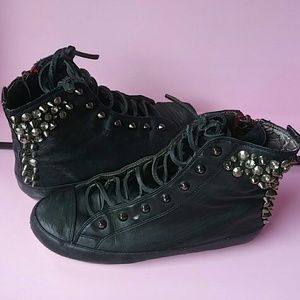 Shoes - Sam Edelman studded sneakers