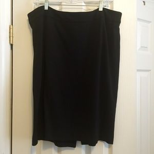 Talbots Dresses & Skirts - Talbots Black Ponte Pencil Skirt