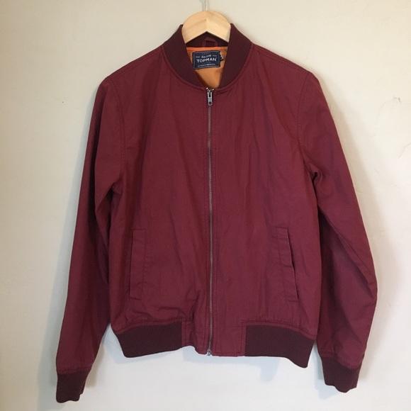 4f26dbf58a43 Topman Cotton Bomber Jacket. M 58bc76ef680278569d01760d