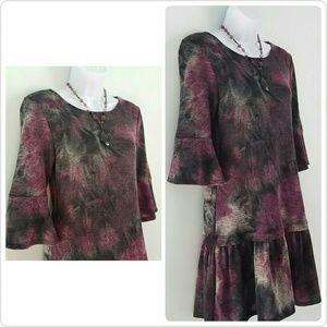 Iz Byer Dresses & Skirts - iz Byer California Grateful Dead Tie Dyed Dress