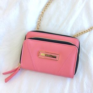 Kenneth Cole Reaction Handbags - NWOT Pink Mini Crossbody Purse
