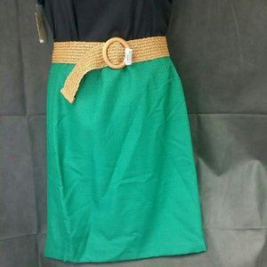 Le Suit  Dresses & Skirts - Le Suit Country Club Women's Prague Emerald  Skirt