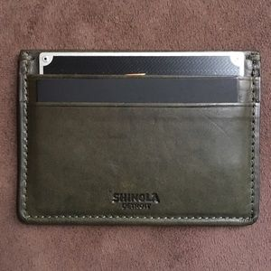 Shinola Other - 5-Pocket Card Case -Shinola