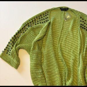 BCBGMaxAzria Sweaters - BCBGMaxAzria studded duster