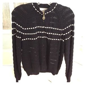 St. John Sweaters - St. John Lightweight zipped cardigan