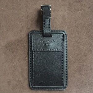 Shinola Other - Leather Luggage Tag - Shinola