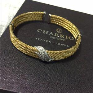 SALE! Charriol cuff bracelet 18K