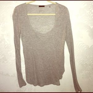 ATM Anthony Thomas Melillo Tops - ATM Heathered Grey Top