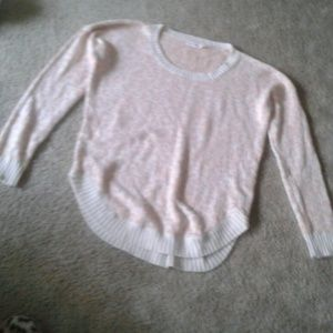 Sweaters - Blush cheetah print sweater